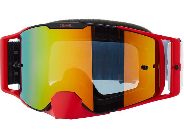 O'Neal B-30 Goggles, czerwony/biały